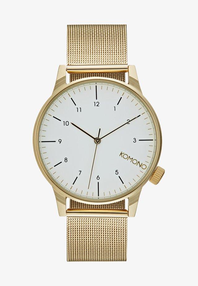 WINSTON - Horloge - goldfarben/weiß
