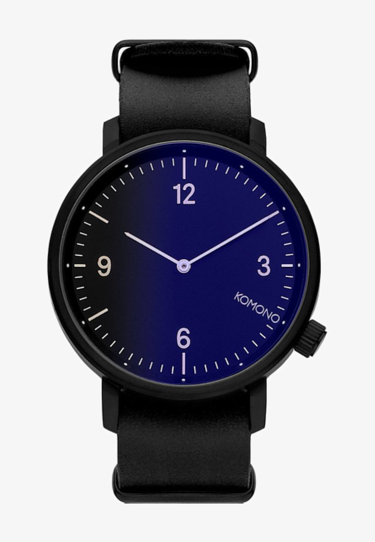 Komono - MAGNUS II MIDNIGHT - Watch - black