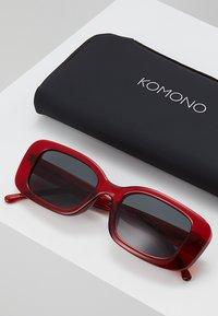 Komono - MARCO - Sluneční brýle - ruby - 2