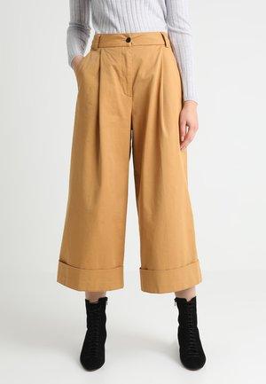RAPUNZEL - Spodnie materiałowe - camel