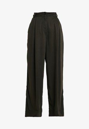 RAPUNZEL - Spodnie materiałowe - olive drab