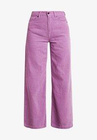 Kings Of Indigo - JANE - Spodnie materiałowe - lilac - 3