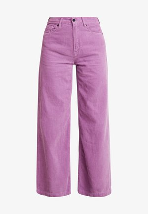 JANE - Spodnie materiałowe - lilac