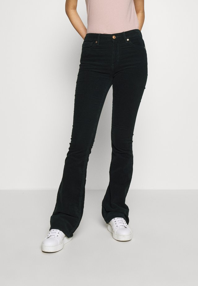 MARIE - Spodnie materiałowe - deep green