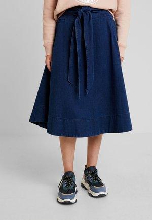 NAKATSU - Áčková sukně - rinse