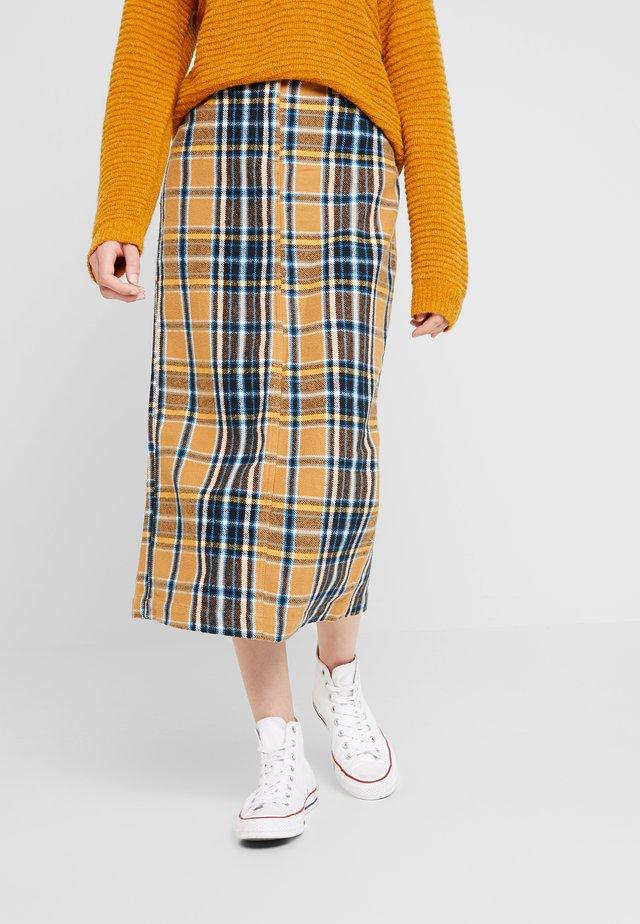 MARISHIA - Maxi skirt - camel