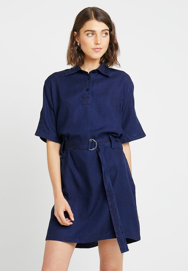 MARGUERITE - Denim dress - blue