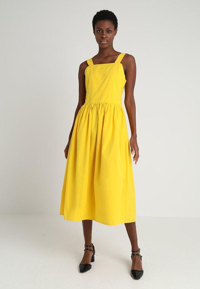 XENA - Długa sukienka - lemon