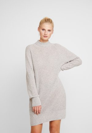 LORRAINE - Jumper dress - grey melee