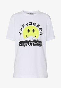 Kings Of Indigo - MIRO - Triko spotiskem - white - 3