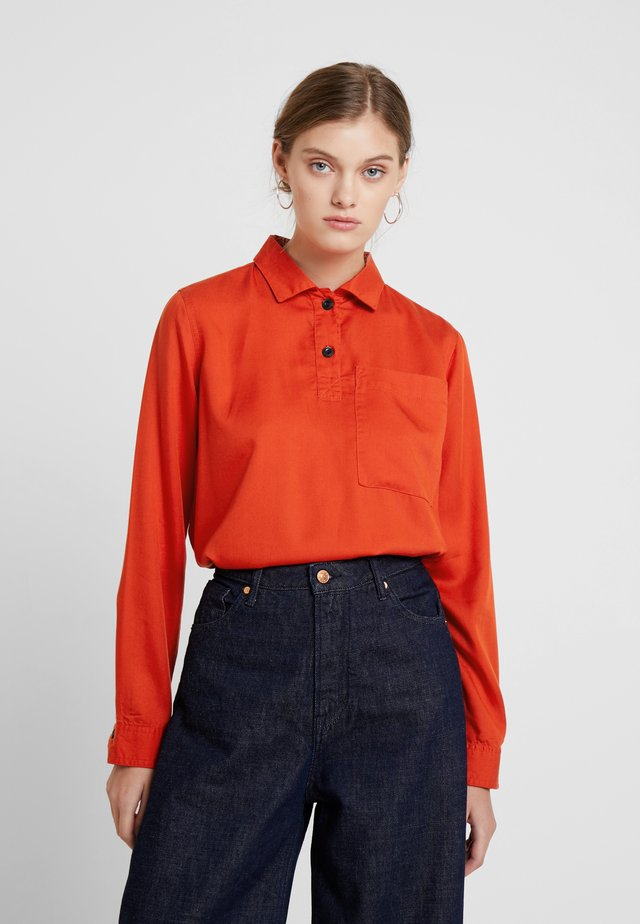 CALLIOPE - Blouse - burnt orange