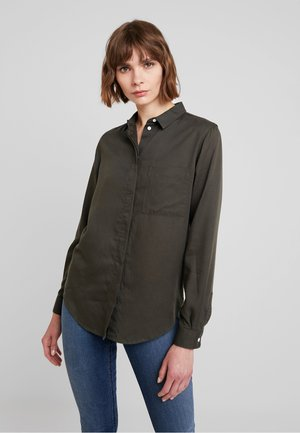TAJA - Button-down blouse - olive drab