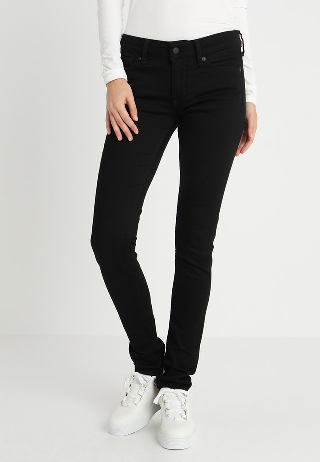 JUNO - Slim fit jeans - stay black