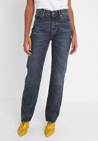 Kings Of Indigo - LUCY - Straight leg jeans - blue marble - 0