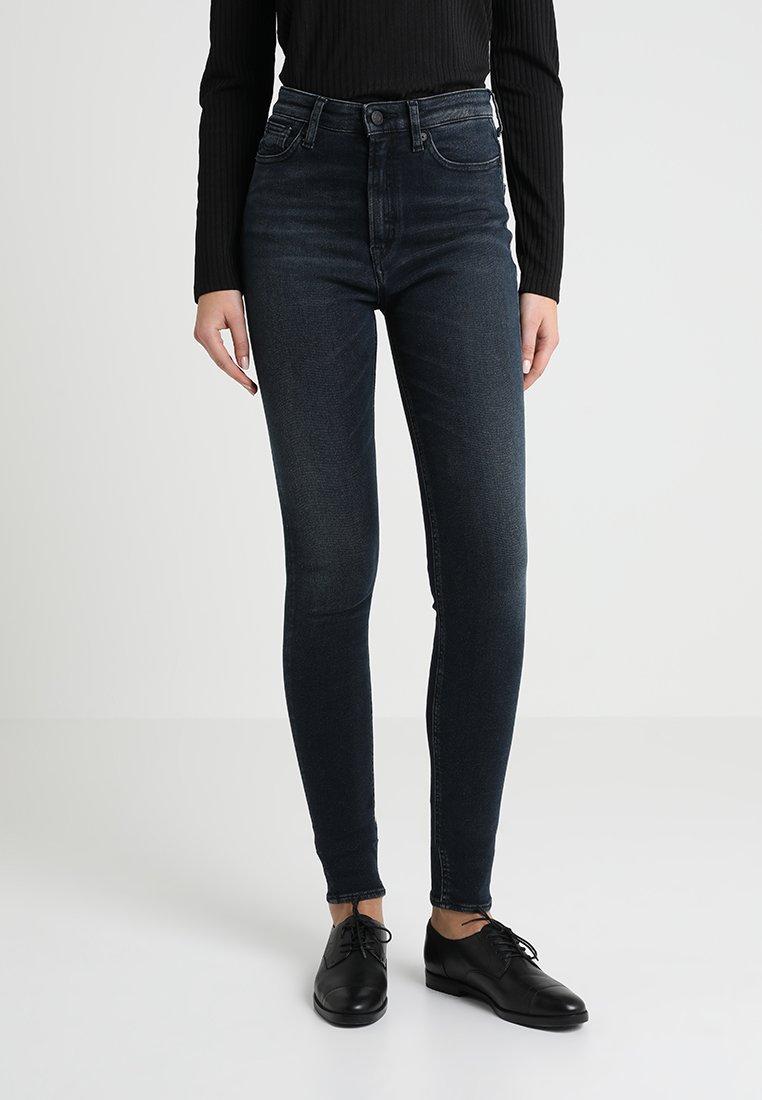 Kings Of Indigo - CHRISTINA HIGH - Jeans Skinny Fit - dark black