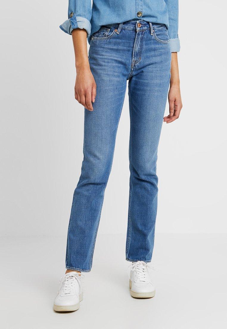 Kings Of Indigo - KIMBERLEY - Jeans slim fit - blue denim