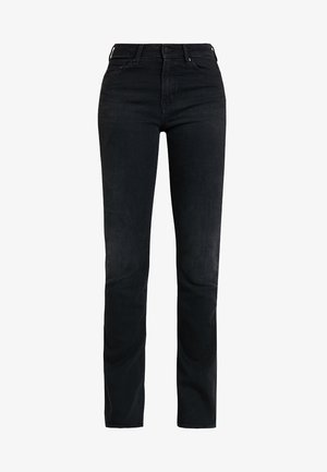MARIE - Flared Jeans - black worn
