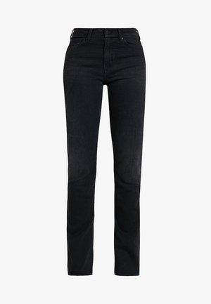 MARIE - Jeansy Dzwony - black worn