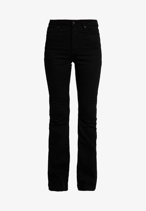 MARIE - Flared Jeans - stay black