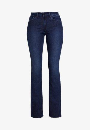 MARIE - Flared Jeans - dark worn