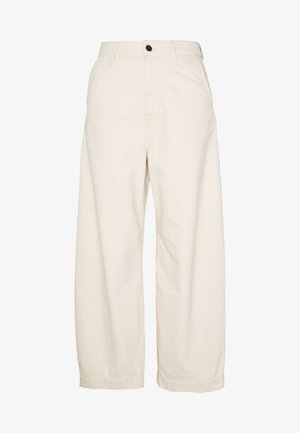 LEILA - Relaxed fit jeans - ecru
