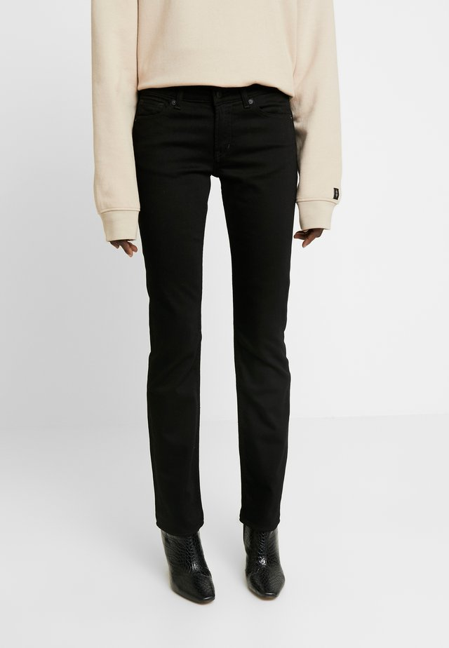 EMI - Straight leg jeans - black
