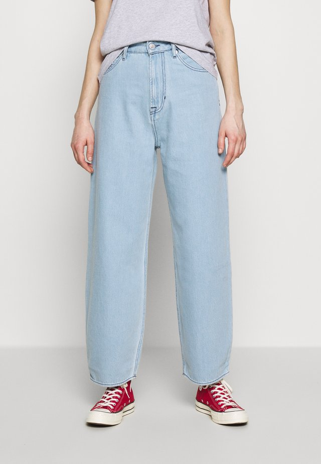 LEILA - Relaxed fit jeans - super light marble