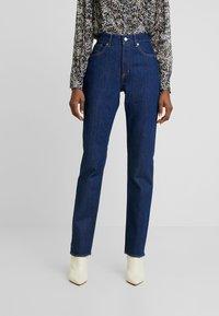 Kings Of Indigo - YAMA - Jeans straight leg - rinsed denim - 0