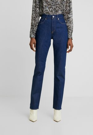YAMA - Jeansy Straight Leg - rinsed denim
