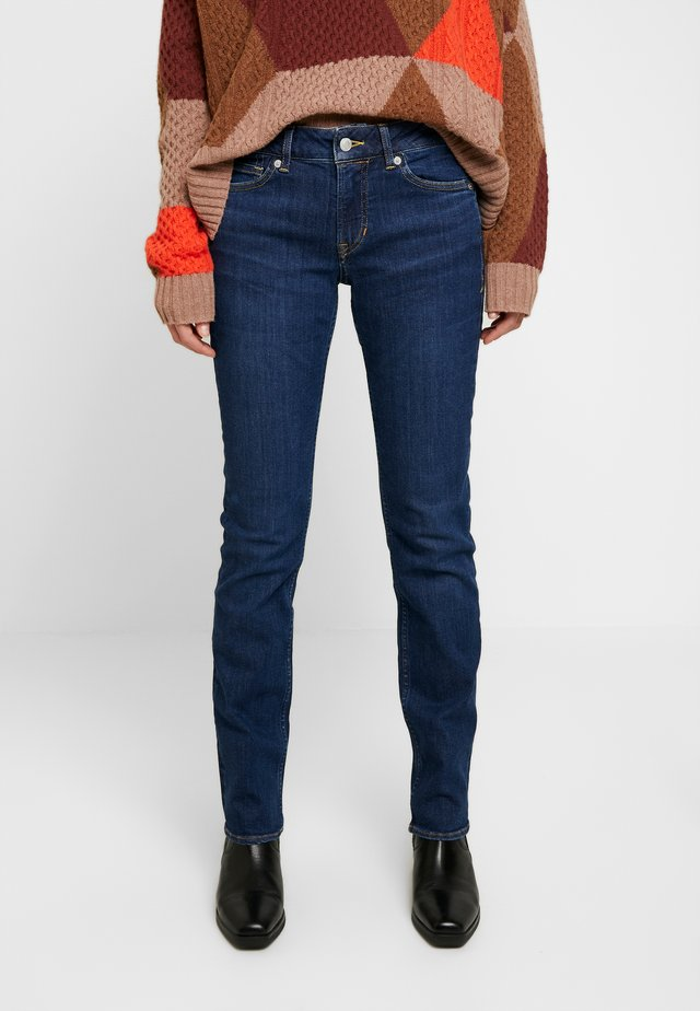 EMI - Straight leg jeans - dark-blue denim