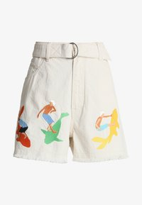Kings Of Indigo - ALICE BELTED  - Denim shorts - ecru - 3