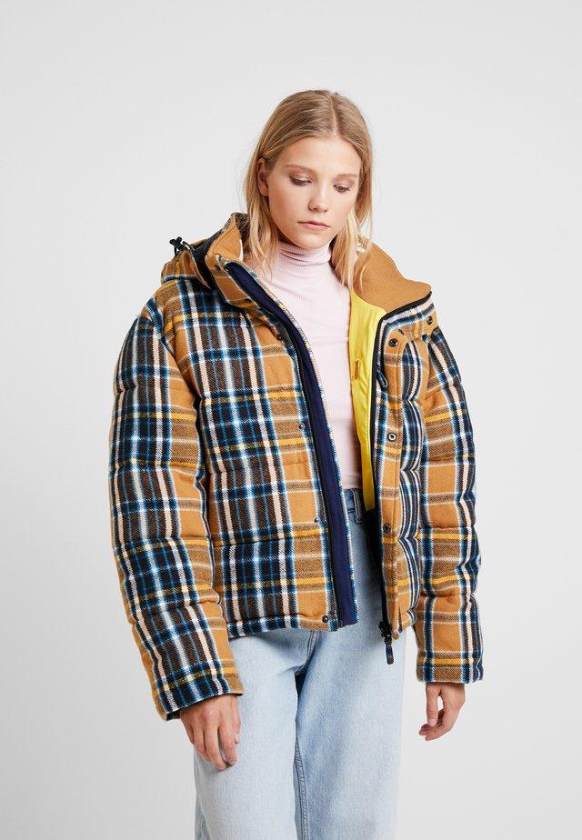 ZHENGA - Winter jacket - camel flannel