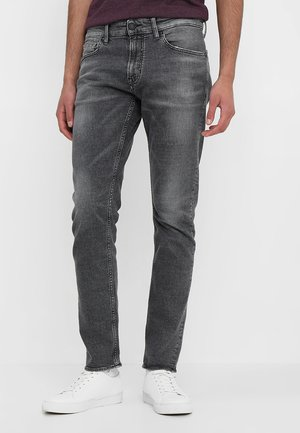 CHARLES - Jeansy Slim Fit - crosshatch grey