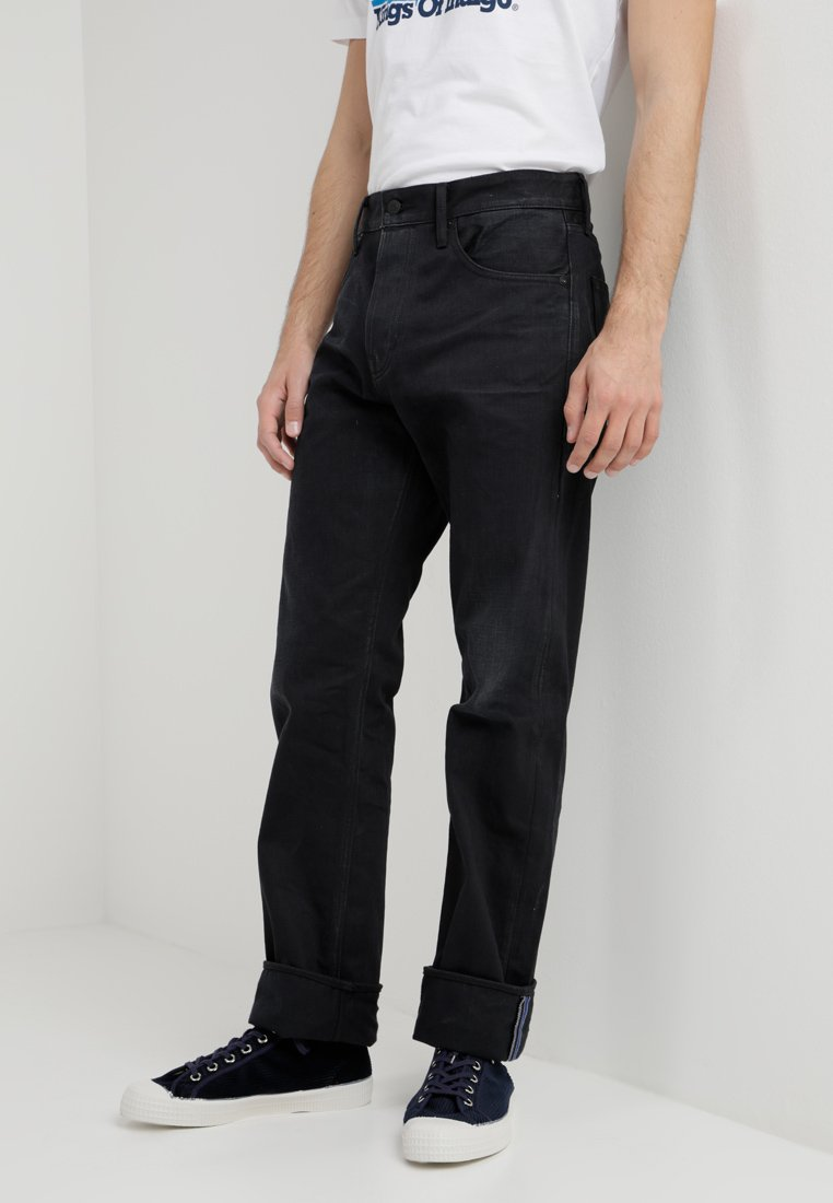 Kings Of Indigo - LUCIUS - Jeansy Straight Leg - compact black