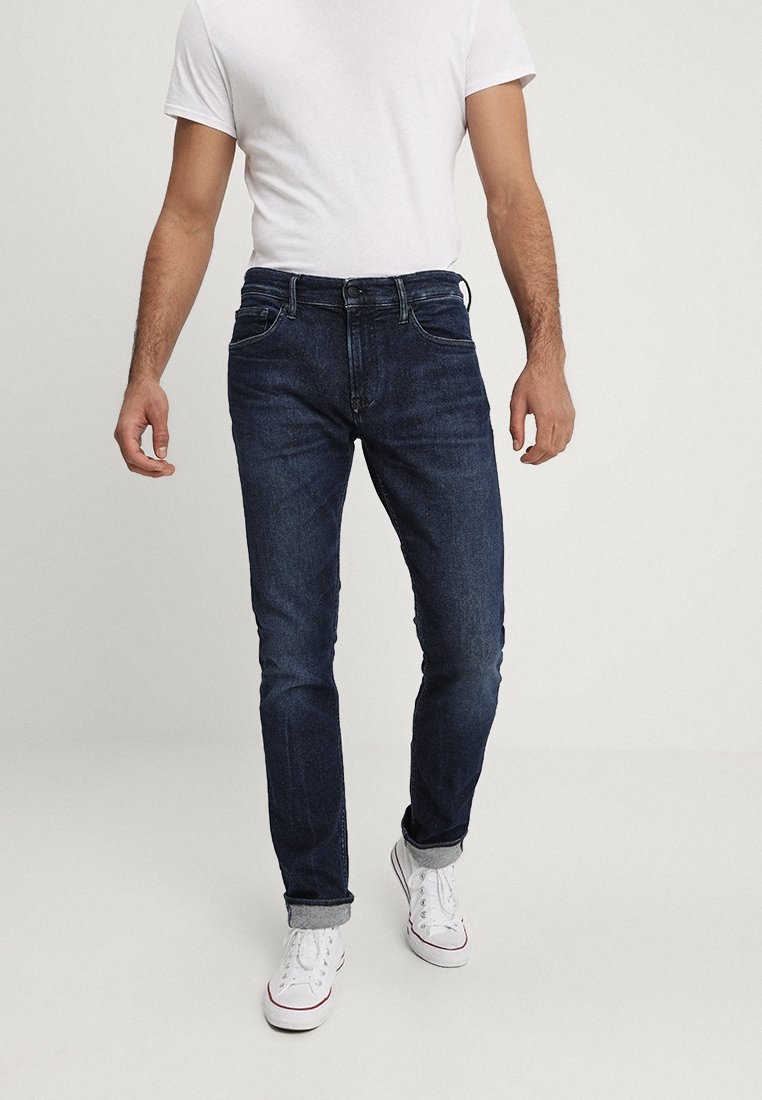Kings Of Indigo - CHARLES - Slim fit jeans - van blue used