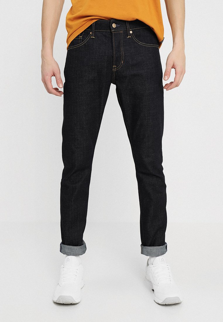 Kings Of Indigo - CHARLES - Slim fit jeans - dark-blue denim