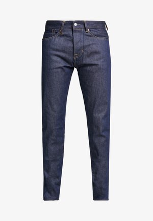 JOHN SELVAGE - Straight leg jeans - dark blue denim