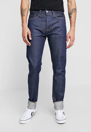 JOHN SELVAGE - Jeans straight leg - dark blue denim