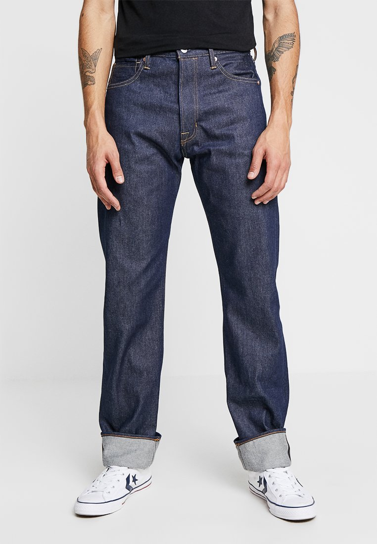 Kings Of Indigo - LUCIUS - Jeansy Straight Leg - dry selvage