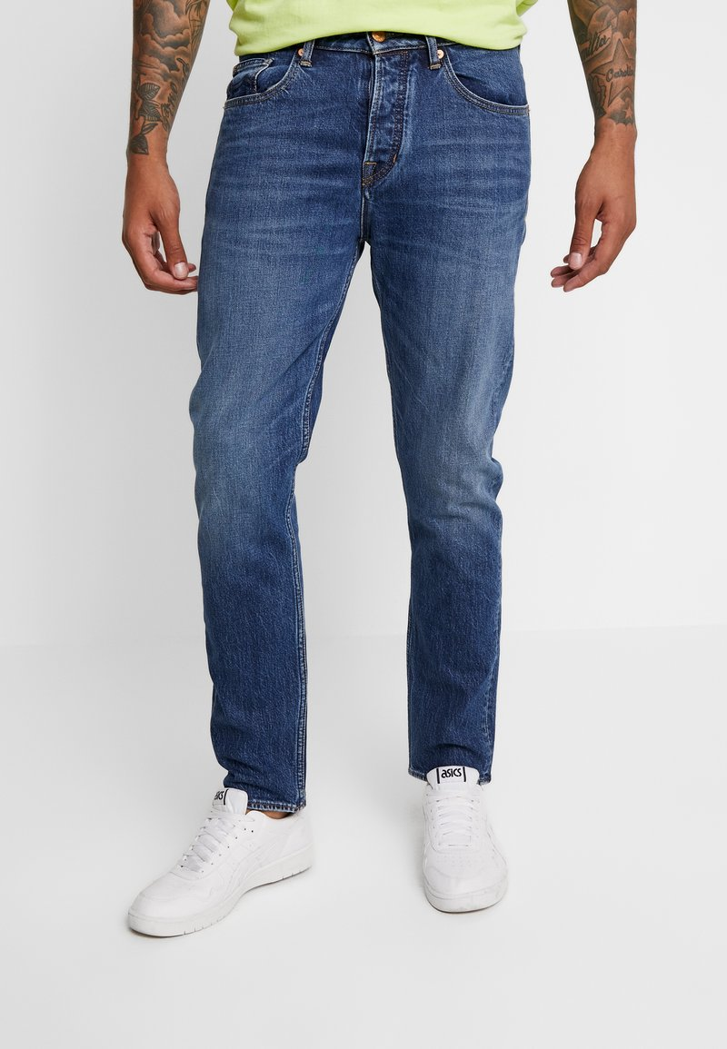 Kings Of Indigo - DANIEL - Straight leg jeans - xavier medium used