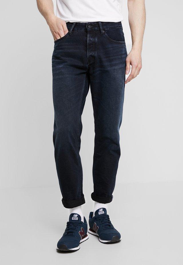 DANIEL - Jeans Straight Leg - dark-blue denim