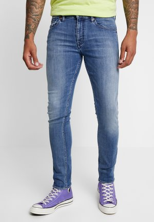 CHARLES - Jeansy Slim Fit - myla marble blue