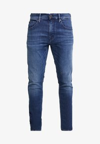 Kings Of Indigo - CHARLES - Jeansy Slim Fit - blue denim - 4