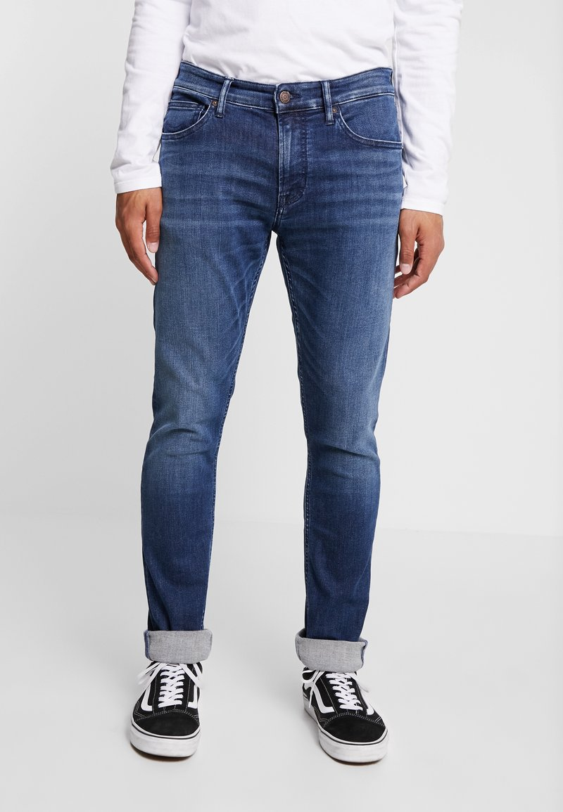 Kings Of Indigo - CHARLES - Jeansy Slim Fit - blue denim