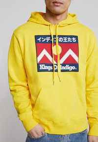 Kings Of Indigo - NARA - Bluza z kapturem - yellow - 5