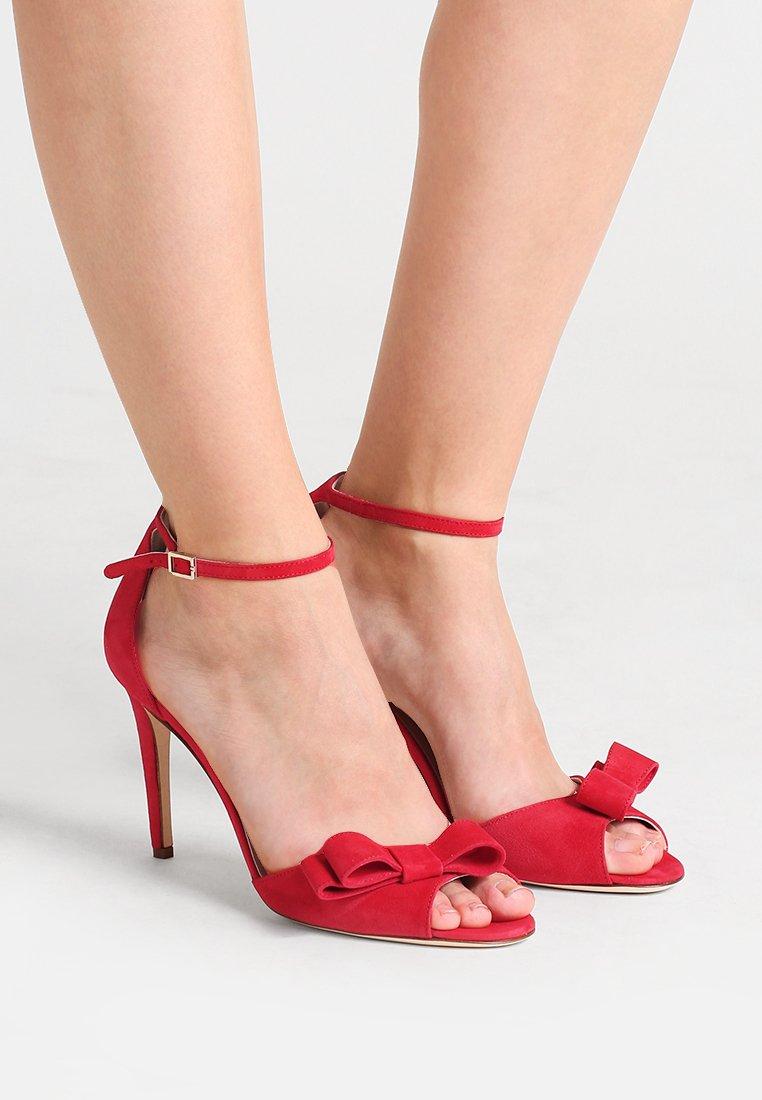 kate spade new york - ISMAY - Sandaler med høye hæler - charm red