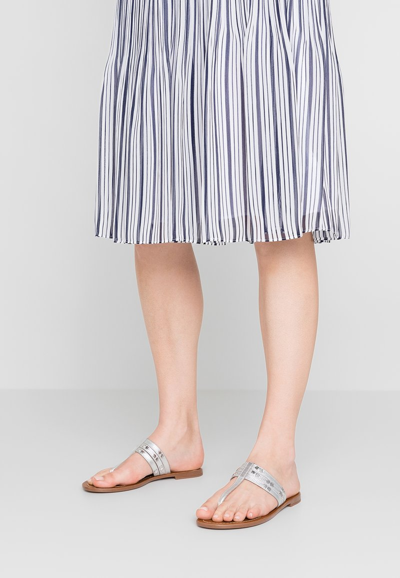 kate spade new york - CAROL - T-bar sandals - silver