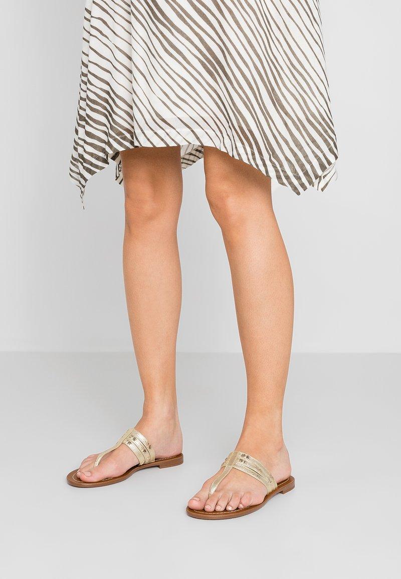 kate spade new york - CAROL - T-bar sandals - pale gold