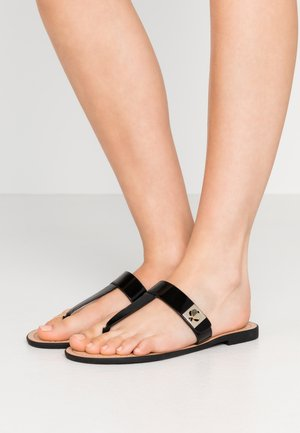 CATANIA  - T-bar sandals - black