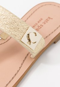 kate spade new york - CATANIA - T-bar sandals - pale gold - 2